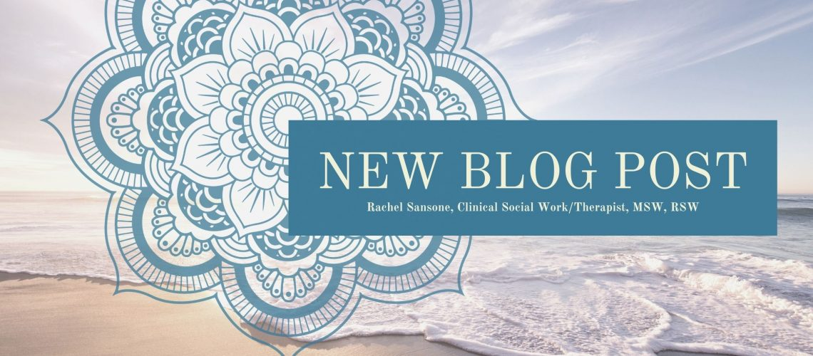 Rachel Sansone, New Blog Post
