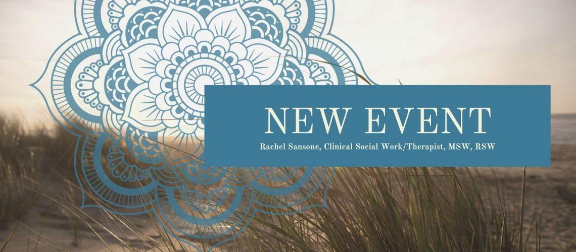 Rachel Sansone, New Event